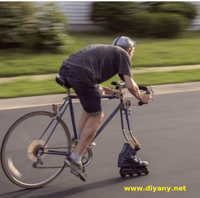 Funny pictures - replacement for the wheel
