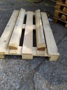 Euro Pallet for barrel transportation