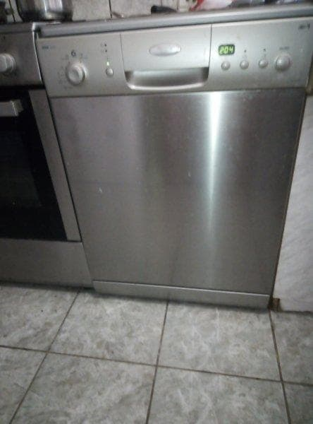 dishwasher from the front