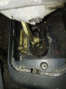 Gear lever Transmission assembly