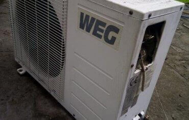 Exterior of the air conditioner