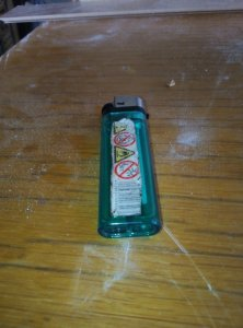Lighter without a refill hole